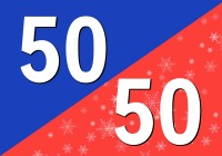 The 50/50 Oldies & Christmas Blend - Free Music Radio