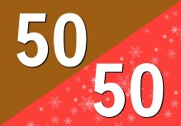 50/50 HitKast Holiday Blend - Free Music Radio