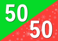 50/50 R&B + Christmas Blend - Free Music Radio