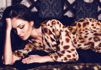 The Leopard Print Lounge Chair - Free Music Radio