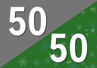 The 50/50 Rock & Holiday Blend - Free Music Radio